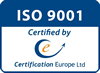 ISO9001:2000 Certified by Certification Europe Ltd